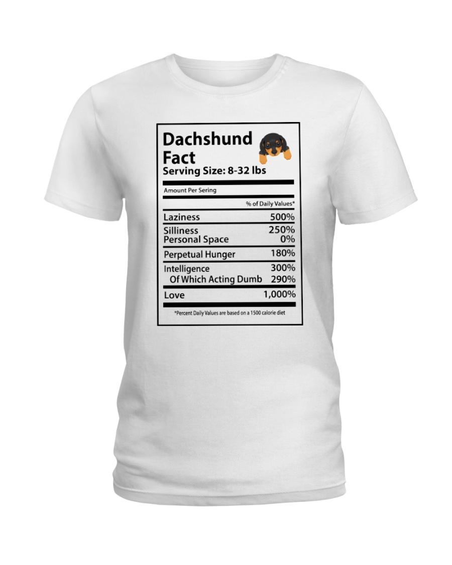 Dachshund Ladies T-Shirt