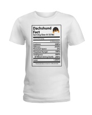 Dachshund Ladies T-Shirt front