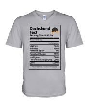 Dachshund V-Neck T-Shirt thumbnail