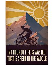 Cycling Spent In the Saddle 16x24 Poster front