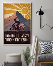 Cycling Spent In the Saddle 16x24 Poster lifestyle-poster-1