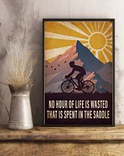 Cycling Spent In the Saddle 16x24 Poster lifestyle-poster-3