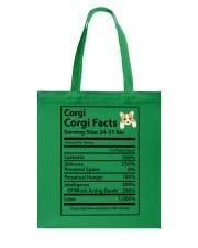 Corgi facts Tote Bag thumbnail
