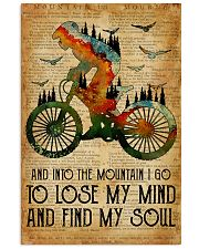 Cycling Find My Soul 16x24 Poster front