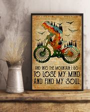 Cycling Find My Soul 16x24 Poster lifestyle-poster-3