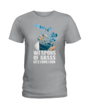 Weapons of grass Ladies T-Shirt thumbnail