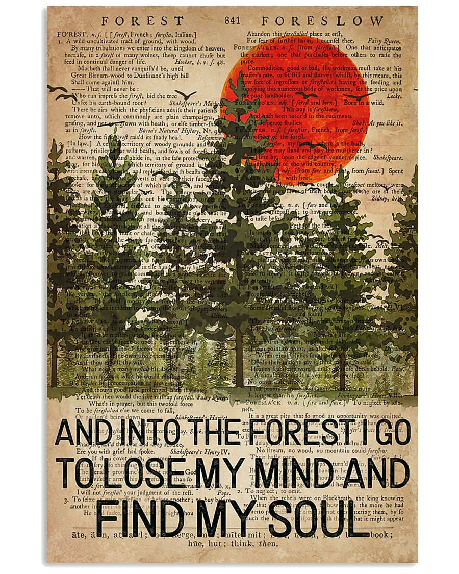 Camping Find My Soul 16x24 Poster