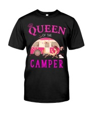 Queen of the camper Classic T-Shirt front