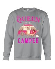Queen of the camper Crewneck Sweatshirt thumbnail