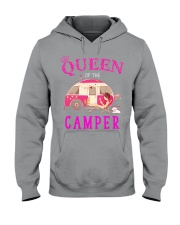 Queen of the camper Hooded Sweatshirt thumbnail