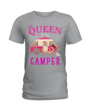 Queen of the camper Ladies T-Shirt thumbnail