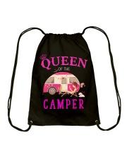 Queen of the camper Drawstring Bag thumbnail