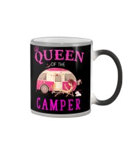 Queen of the camper Color Changing Mug thumbnail