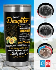 To My Daughter 20oz Tumbler aos-20oz-tumbler-lifestyle-front-43
