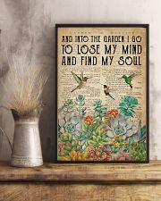 Garden Find My Soul 16x24 Poster lifestyle-poster-3