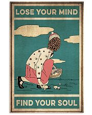 Mushroom Lose Your Mind Find Your Soul 16x24 Poster front