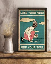 Mushroom Lose Your Mind Find Your Soul 16x24 Poster lifestyle-poster-3