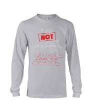 I am not spoiled my husband Long Sleeve Tee tile
