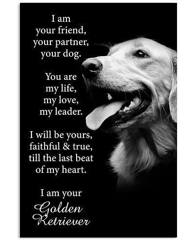 Dog Golden retriever I Am Your Friend