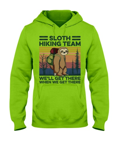 Camping Sloth Hiking Team