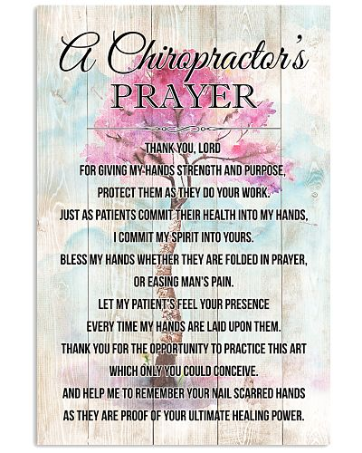 Chiropractor's Prayer