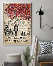 Hiking Wander Are Lost 16x24 Poster lifestyle-poster-1