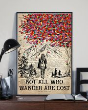 Hiking Wander Are Lost 16x24 Poster lifestyle-poster-2