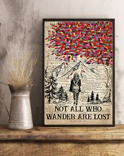Hiking Wander Are Lost 16x24 Poster lifestyle-poster-3