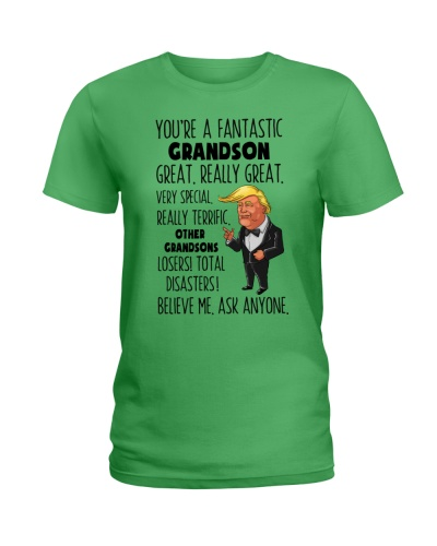 Family Grandson You're A Fantastic