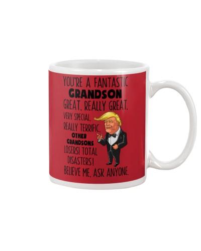 Family Grandson You're A Fantastic