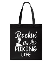 hiking life Tote Bag tile