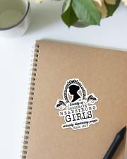 Book Headstrong Girls Sticker - Single (Vertical) aos-sticker-single-vertical-lifestyle-front-16