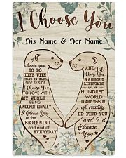 Family I Choose You 24x36 Poster front