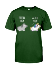 Before and After Yoga Classic T-Shirt thumbnail