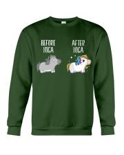 Before and After Yoga Crewneck Sweatshirt thumbnail