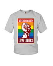 Defend Equality Love Unites Youth T-Shirt thumbnail