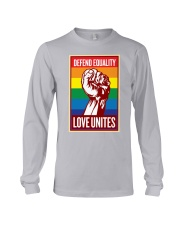 Defend Equality Love Unites Long Sleeve Tee thumbnail