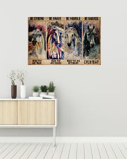Horse Be Strong When You Are Weak 36x24 Poster poster-landscape-36x24-lifestyle-01