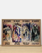 Horse Be Strong When You Are Weak 36x24 Poster poster-landscape-36x24-lifestyle-03