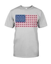 Bull Mastiff flag Classic T-Shirt thumbnail