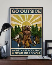 Camping Go Outside 16x24 Poster lifestyle-poster-2