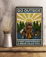 Camping Go Outside 16x24 Poster lifestyle-poster-3