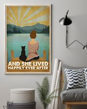 Cat Happily Ever After 16x24 Poster lifestyle-poster-1