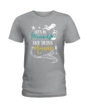 Let's be mermaid Ladies T-Shirt thumbnail