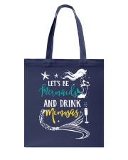 Let's be mermaid Tote Bag thumbnail