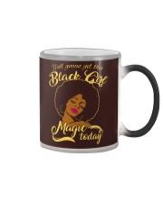 Black Girl  Color Changing Mug thumbnail
