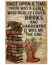 Garden And Books 16x24 Poster front