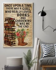 Garden And Books 16x24 Poster lifestyle-poster-1
