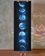 Yoga Galactic Moon Phase Yoga Mat 24x70 (vertical) aos-yoga-mat-lifestyle-29