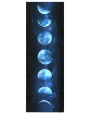 Yoga Galactic Moon Phase Yoga Mat 24x70 (vertical) front